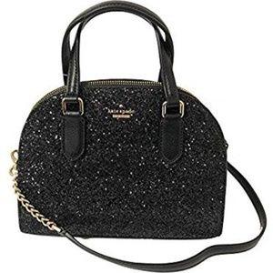 NWT Kate Spade Laurel Way Glitter Mini Reiley bag
